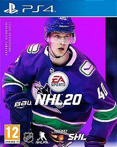 NHL 20 Edição Standard PS4 PSN Mídia Digital