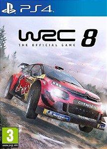 WRC 8 FIA World Rally Championship  PS4 PSN Mídia Digital