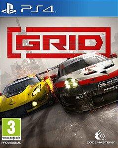 GRID Launch Edition PS4 PSN Mídia Digital