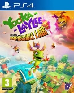 Yooka-Laylee and the Impossible Lair PS4 PSN Mídia Digital