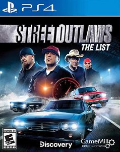 Street Outlaws The List PS4 PSN Mídia Digital