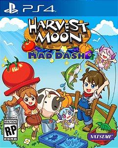 Harvest Moon Mad Dash  PS4 PSN Mídia Digital