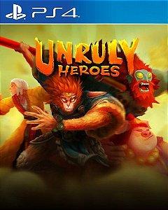 Unruly Heroes PS4 PSN Mídia Digital