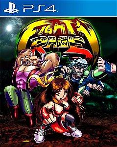 Fight'N Rage  PS4 PSN Mídia Digital