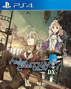Atelier Escha and Logy: Alchemists of the Dusk Sky DX PS4 PSN Mídia Digital