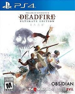 Pillars of Eternity II Deadfire definite  PS4 PSN Mídia Digital
