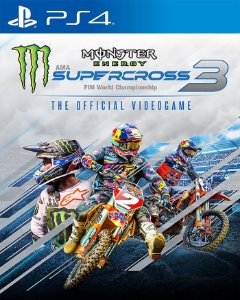 Monster Energy Supercross - The Official Videogame 3 PS4 PSN Mídia Digital