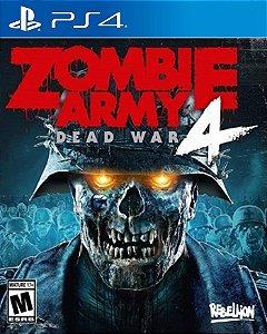 Zombie Army 4 Dead War PS4 PSN Mídia Digital