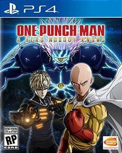 ONE PUNCH MAN A HERO NOBODY KNOWS PS4 PSN Mídia Digital