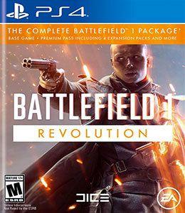 Battlefield 1 Revolution  PS4 PSN Mídia Digital