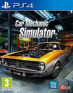 Car Mechanic Simulator  PS4 PSN Mídia Digital