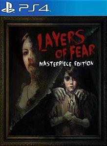Layers of Fear: Masterpiece Edition  PS4 PSN Mídia Digital