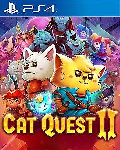Cat Quest II  PS4 PSN Mídia Digital