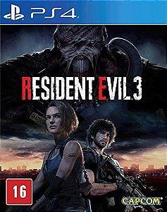 RESIDENT EVIL 3 / BIOHAZARD 3 PS4 PSN Mídia Digital