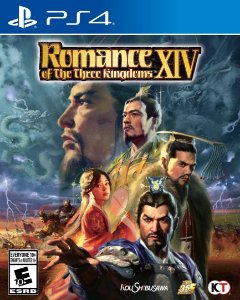 ROMANCE OF THE THREE KINGDOMS XIV  PS4 PSN Mídia Digital