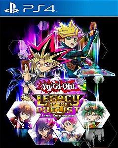 Yu-Gi-Oh! Legacy of the Duelist: Link Evolution PS4 PSN Mídia Digital