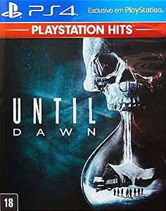 Until Dawn PS4 PSN Mídia Digital