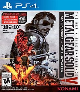 METAL GEAR SOLID V: THE DEFINITIVE EXPERIENCE  PS4 PSN Mídia Digital