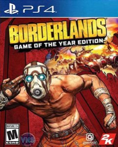 Borderlands Game of the Year Edition  PS4 PSN Mídia Digital