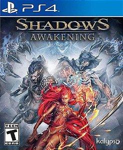 Shadows Awakening PS4 PSN Mídia Digital