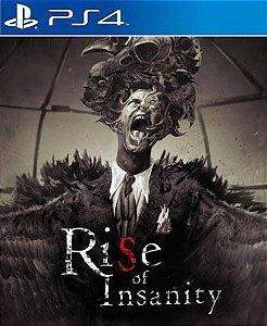 Rise of Insanity VR PS4 PSN Mídia Digital