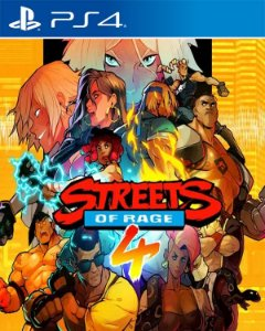 Streets Of Rage 4 PS4 PSN Mídia Digital