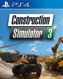 Construction Simulator 3 Console Edition PS4 PSN Mídia Digital