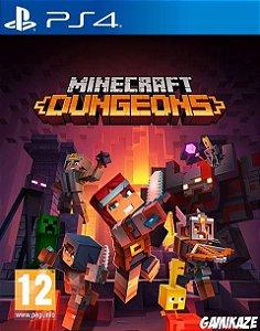 Minecraft Dungeons  PS4 PSN Mídia Digital