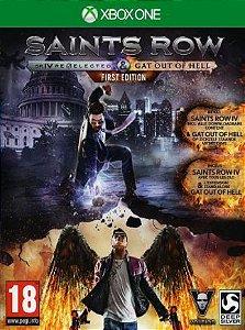 Saints Row IV: Re-Elected & Gat out of Hell XBOX ONE Código 25 Dígitos