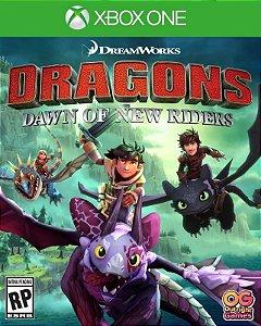 DreamWorks Dragões Amanhecer de Novos Cavaleiros Xbox One Código de Resgate 25 Dígitos