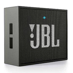Caixa de Som Bluetooth Portátil JBL Go - Preto