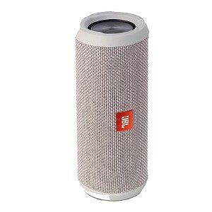 Caixa De Som Portátil Bluetooth JBL Flip 4 Speaker - Prata