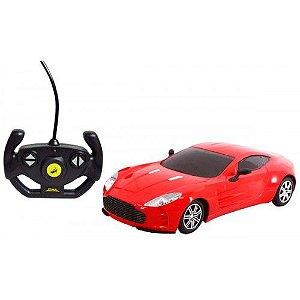 Carro de Controle Remoto Sem Fio Sport - DM TOYS