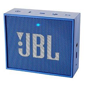 Caixa de Som Bluetooth Portátil JBL Go - Azul