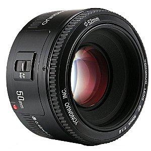 Lente Yongnuo YN-50mm f/1.8 para Canon EF