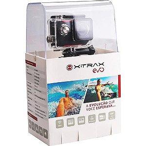 Câmera de Ação Xtrax Evo 12MP Mini-USB Full HD com Função Wi-fi + Vinte acessorios