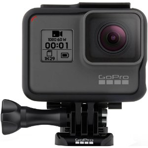 Câmera Digital Gopro Hero à prova d'água com Wi-Fi - Preto