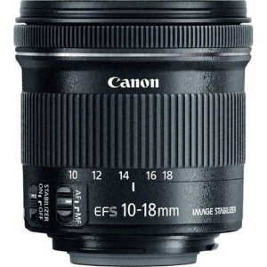 Foto 1 - Lente Canon Ef-S 10-18mm F/4.5-5.6 Is Stm Lente Canon Ef-S 10-18mm F/4.5-5.6 Is Stm
