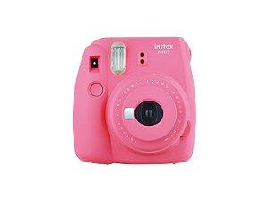 Câmera Fujifilm Instax Mini 9 - Foto Instantânea - Rosa
