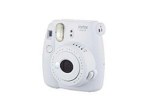Câmera Fujifilm Instax Mini 9 - Foto Instantânea - Branco Gelo