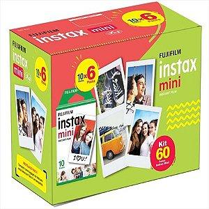 Filme Instax Mini com 60 fotos - Fujifilm