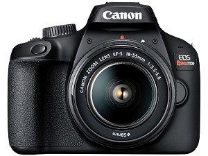 Câmera Fotografica  Digital Canon - EOS Rebel T100 Wi-Fi