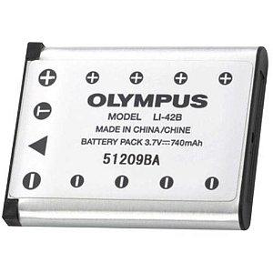 Bateria Para Câmera Fotografica Digitais Olympus Li42b (Sem Cartela)