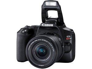 Câmera Fotográfica Canon Digital Prof. Rebel SL3 18-55