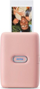 Impressora para Smartphone Instax Mini Link Dusky Pink Fujifilm