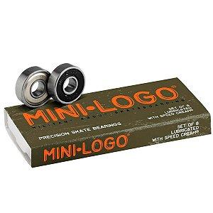 Rolamentos Mini-Logo - 8 unidades