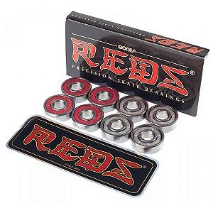 Rolamentos Red Bones - 8 unidades