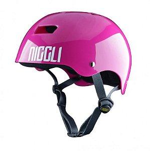 Capacete Profissional Niggli Pads Iron Light - Pink