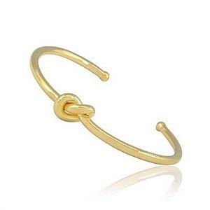 Pulseira Bracelete Nozinho Di Capri Semi Jóias X Ouro X Ouro Branco ou Ródio Negro