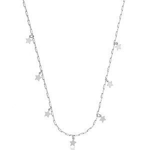 Colar Elos Cartier Estrelas Di Capri Semi Jóias X Ouro